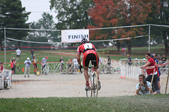 JP winning the Jonathan Page Planet Bike Cup. No pressure there. Photo by Amy Dykema.