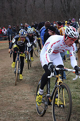 JP at the 2008 U.S. Elite Cyclocross Champinship. Photo by Amy Dykema