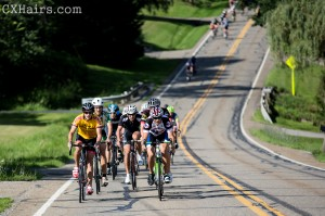John and Sam Kieffer lead the Cat 5 field at the Tour of the Valley.