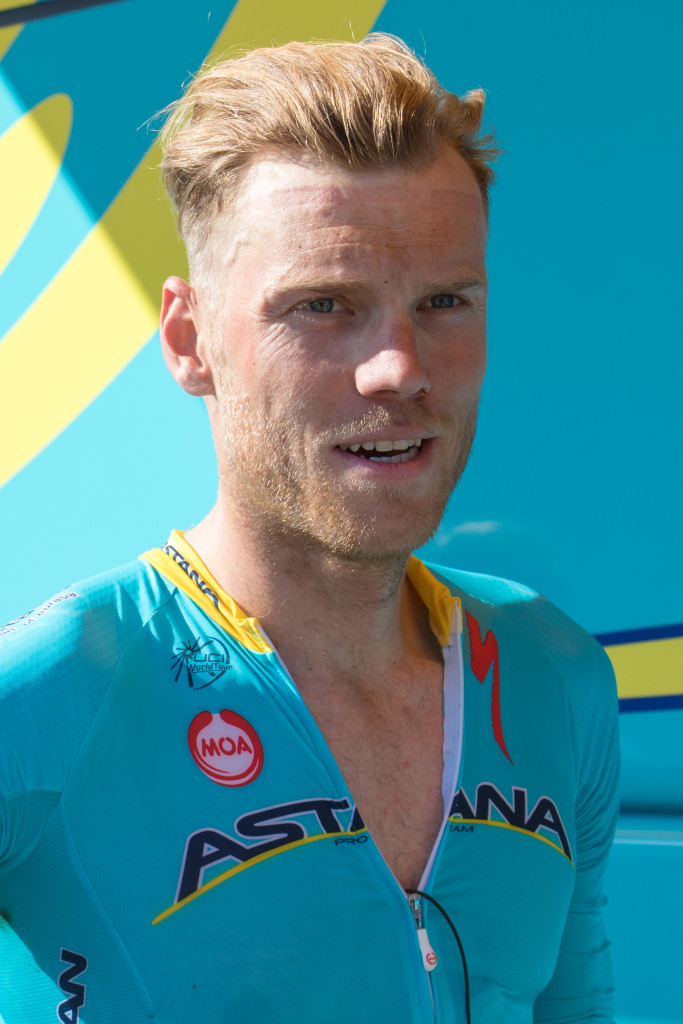 Lars Boom (Astana). Still racing.