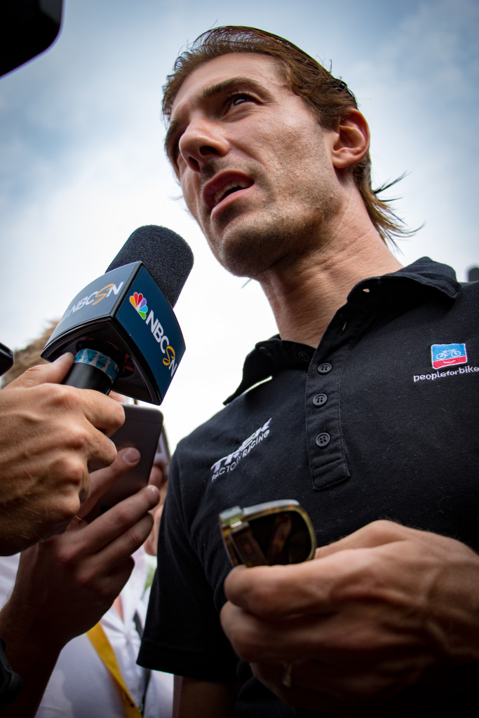 Fabian Cancellara (Trek Factory Racing). Still bummed. He is. I am. You should be, too.