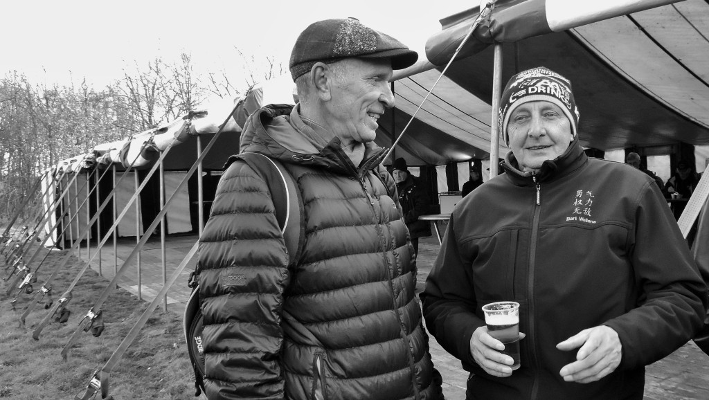 Brook Watts and Papa Wellens. © Cat Armour