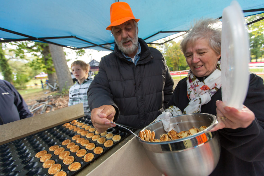 "The DC Dutch Club's ""Poffertjes"" (little pancakes) have become a DCCX staple over the years."