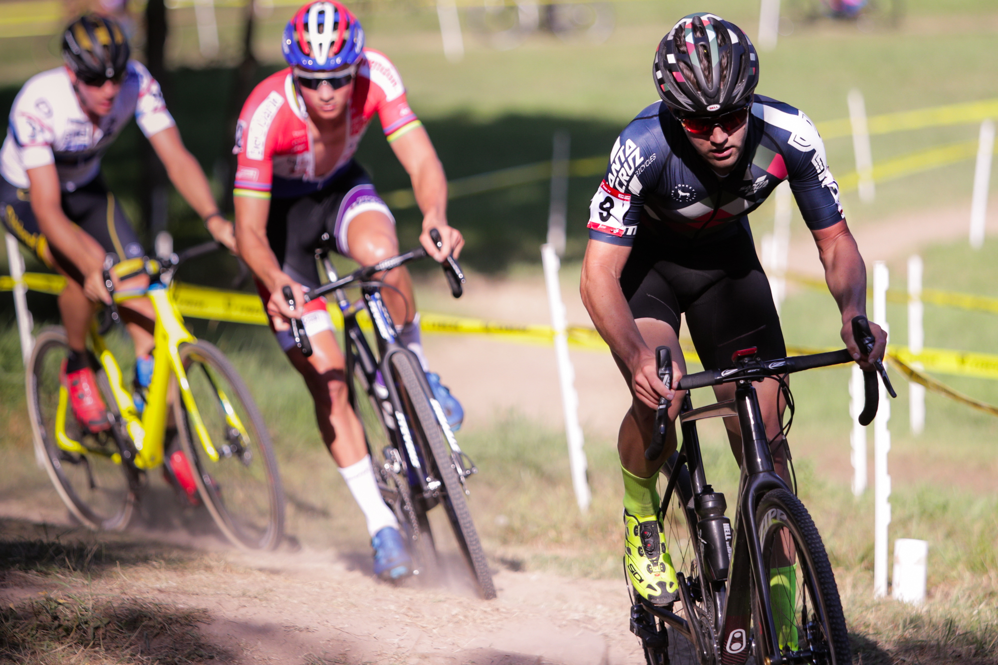 Tobin Ortenblad lead at Trek CX Cup