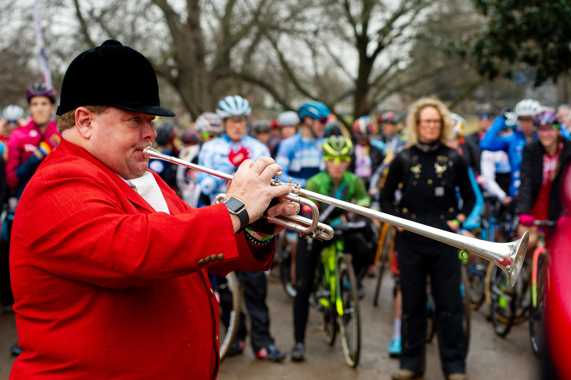 Steve Buttleman, bugler at over 60,000 horse races and two bike races