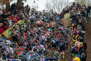 UCI World Cup Koksijde - Women on the first run-up