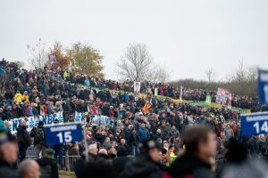 Huge dunes and huge crowds at the Koksijde World Cup