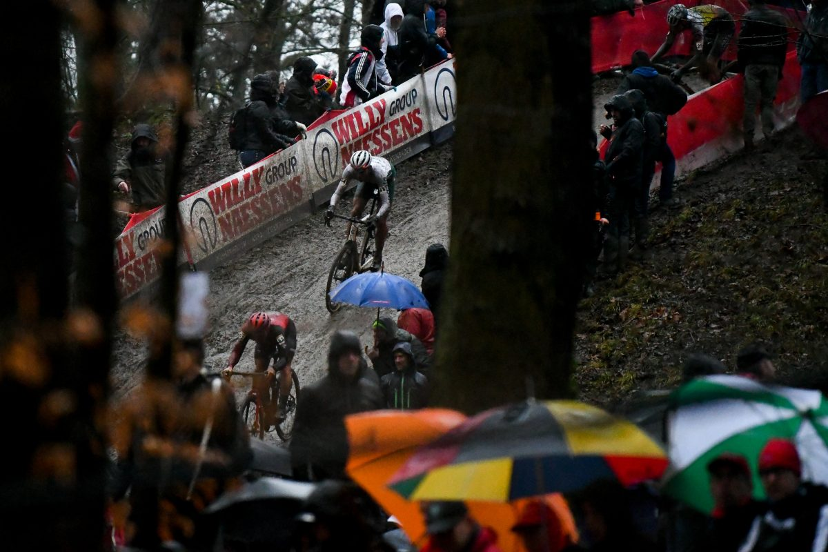Curtis White at the UCI World Cup Namur