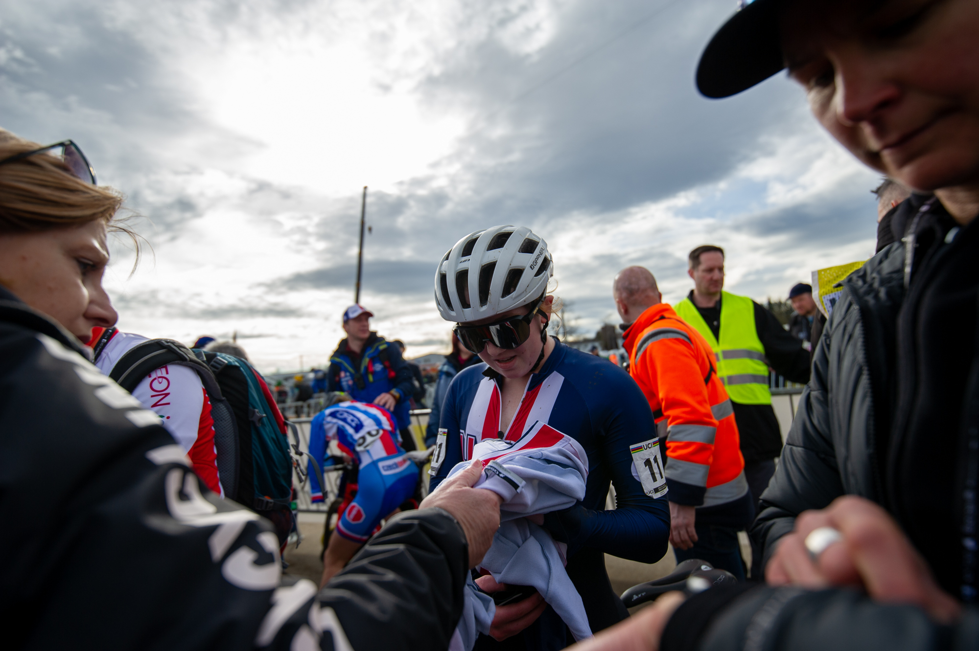 Bridget Tooley at the UCI Cyclocross World Championships